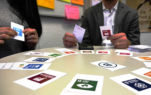 Sustainable Development Geek card game.