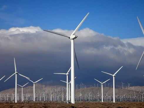 San Gorgonio Pass wind farm, California, USA