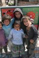 Roma children in Tirana, Albania.