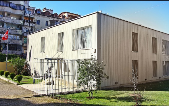 Permisses of the Embassy of Switzerland in Tirana