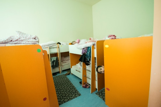 The renovated kindergarten, Amasia, Armenia