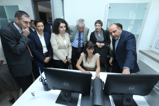 One-stop-shop Citizen Office Opening, Amasia, Armenia