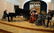 Concert of Jazz Trio Vein in the Sarajevo Music Academy