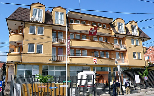 The embassy premises in Pristina
