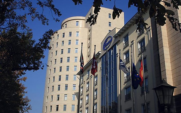 The embassy premises in Bishkek