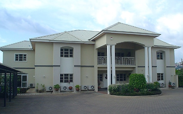 The embassy premises in Abuja