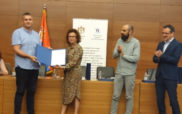 Accessibility award ceremony for local governments