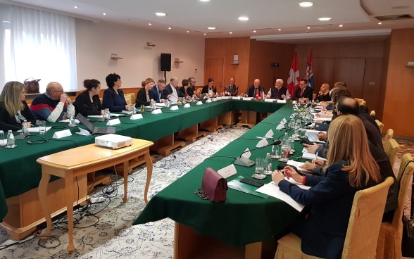 Migration Dialogue between Switzerland and Serbia