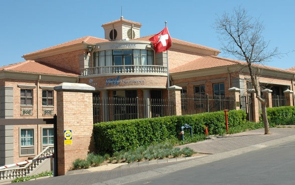 View of the Swiss Embassy in Pretoria