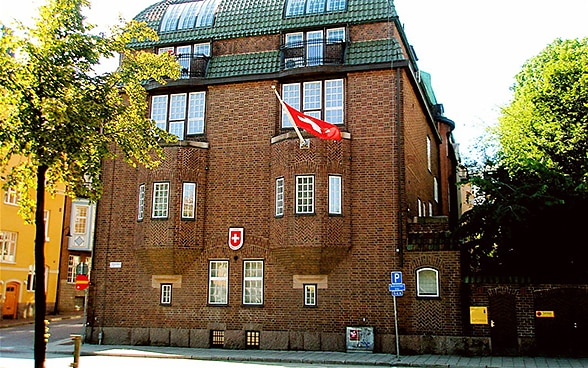 The embassy premises in Stockholm