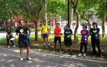 Marcel Straub introducing Taiwanese sport instructors to Street Racket