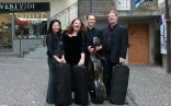 The Vector Quartett (left to right):Reiko Koi, Denitza Kucera, Sebastian Diezig and Bernd Haag
