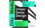 Poster for Urban Swiss Design at designjunction 2017