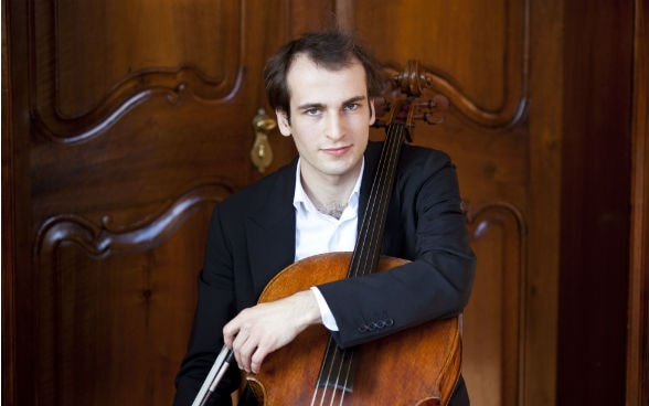 Swiss cellist Christoph Croisé, winner of the Swiss Ambassador's Award 2017