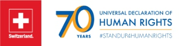 70 Years Universal Declaration of Human Rights © FDFA