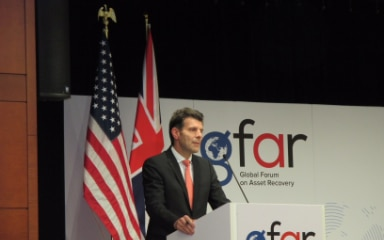 Ambassador Roberto Balzaretti, Head of the Directorate of International Law and Head of the Swiss delegation to the GFAR.