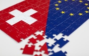Puzzle Switzerland and EU