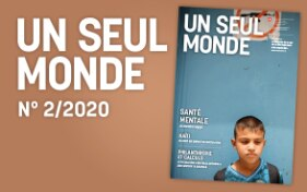 "Cover page of Nr 2/2020 of the magazine ""Un seul monde"""