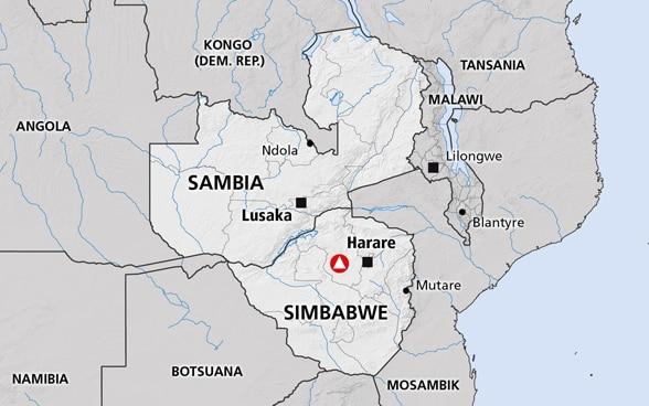 Südafrika Karte Pdf.Südliches Afrika