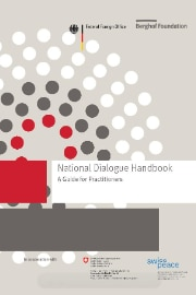 The Cover of the Natonal Dialogue Handbook.