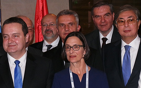 Didier Burkhalter with members of the Panel of Eminent Persons.