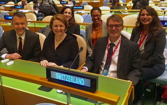 Ambassador Benno Bättig, Swiss delegation, the 61st session of the UN Commission on the Status of Women