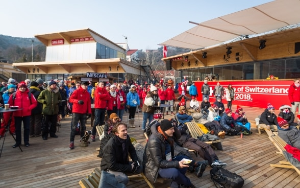 La House of Switzerland a Pyeongchang