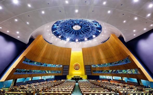 UN General Assembly Hall, New York