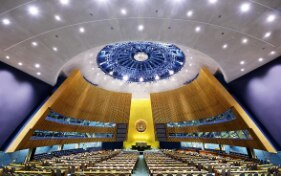 What does the UN General Assembly do and why does Switzerland participate?