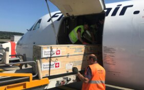 Moria: Switzerland sends further aid to Lesbos