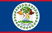 Flag Belize