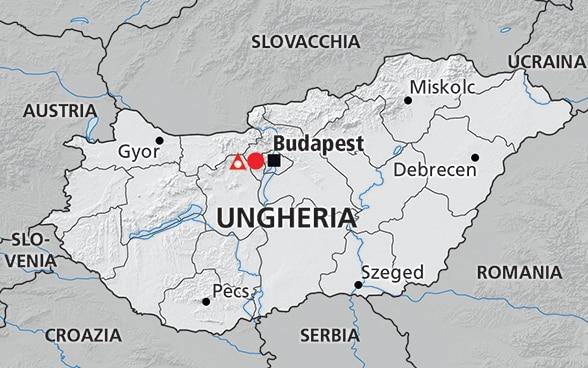 La Cartina Geografica Della Svizzera.Ungheria Paese Partner Del Contributo Svizzero All Allargamento