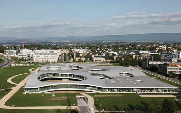 Rolex Learning Center al Politecnico federale di Losanna