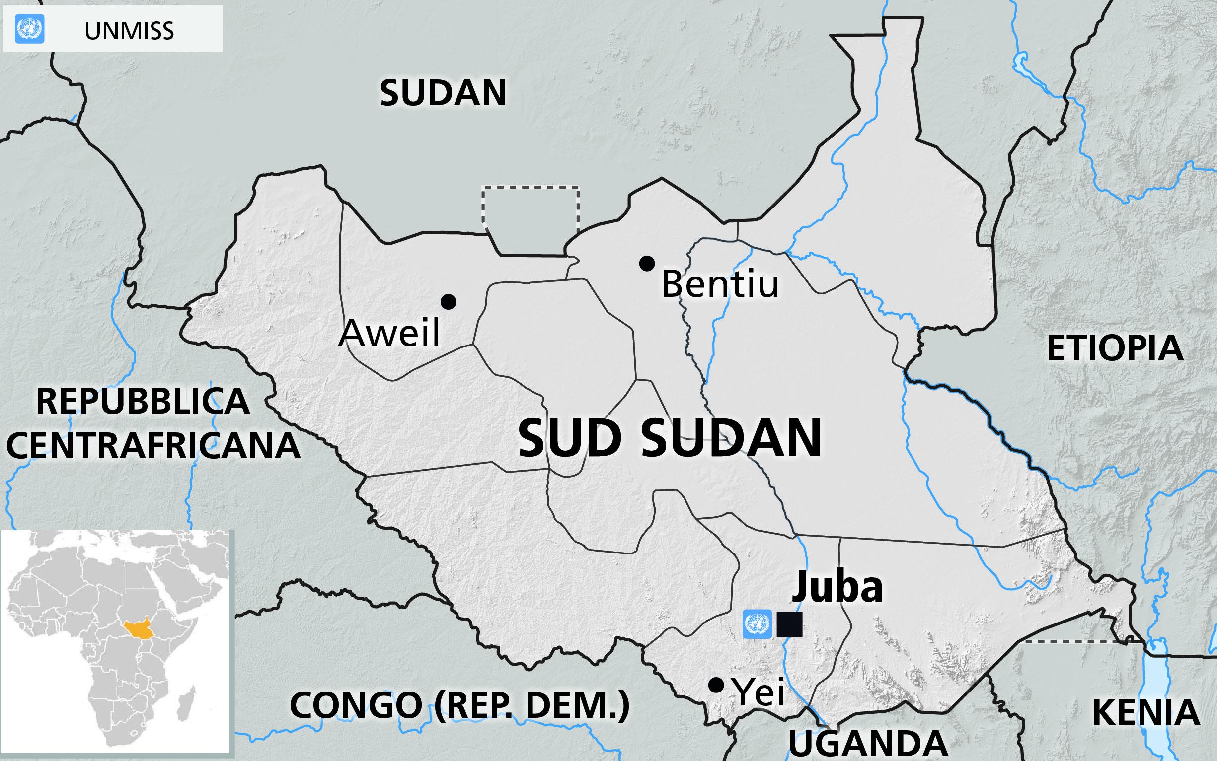 Sudan del sud indipendenza cipro