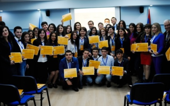 """I am the Community"""": Armenian Young People Solve Local Problems"""