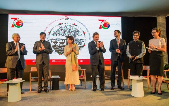 "Swiss President honours ""Friendship Ambassadors"" to mark ""70 Years of Swiss-Indian Friendship"""