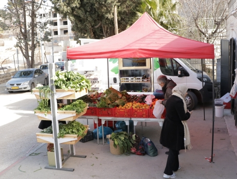 Improved access to markets for fresh fruits and vegetable (FFV) small scale producers (men and women), occupied Palestinian territory