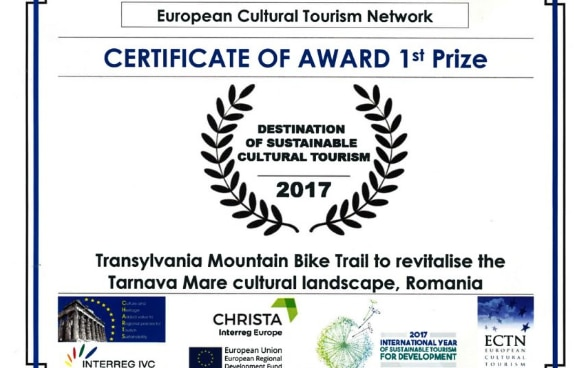 Transylvania Mountain Bike Trail to revitalize Târnava Mare cultural landscape, Romania