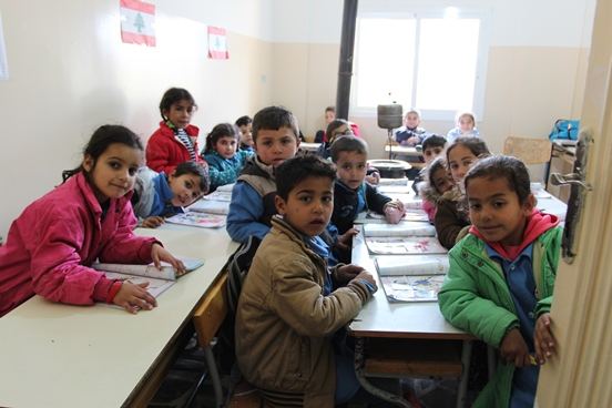 The rehabilitated schools are providing a better learning environment for Lebanese as well as Syrian pupils. © SDC