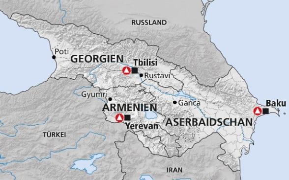 Sudkaukasus Georgien Armenien Aserbaidschan