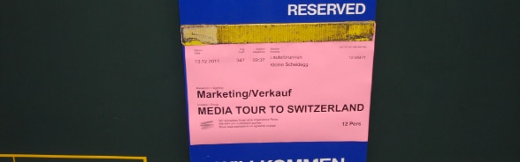 Study visits and major events are the domestic platforms Switzerland uses to communicate.