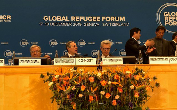 The first Global Refugee Forum opens in Geneva on 17 December 2019.