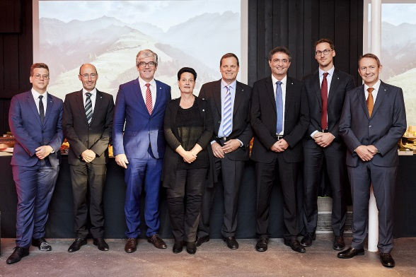 This year's Soirée Suisse was organized with the kind support of the Swiss canton of Graubünden.